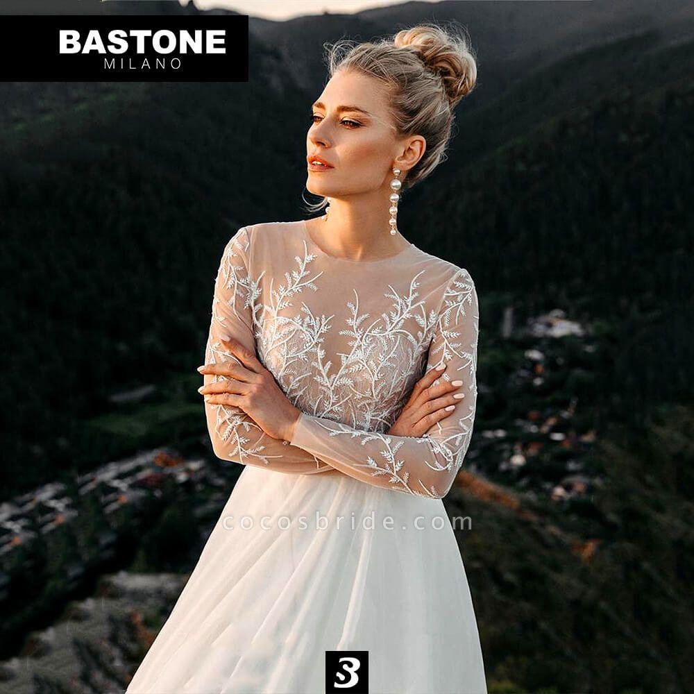 EC228L Wedding Dresses A Line Enchante Collection