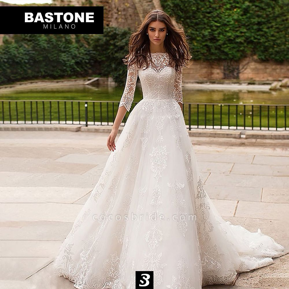 IC156L Wedding Dresses A Line Innocenza Collection