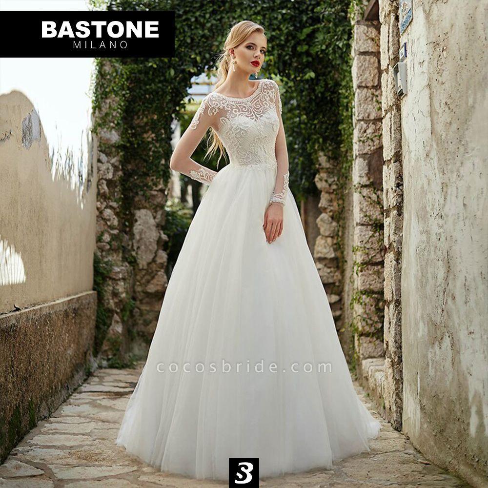 CC090L Wedding Dresses A Line Confidence Collection