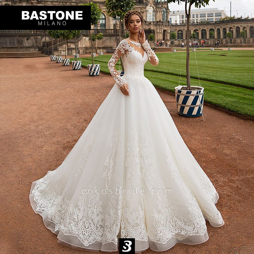 IC161L Wedding Dresses A Line Innocenza Collection