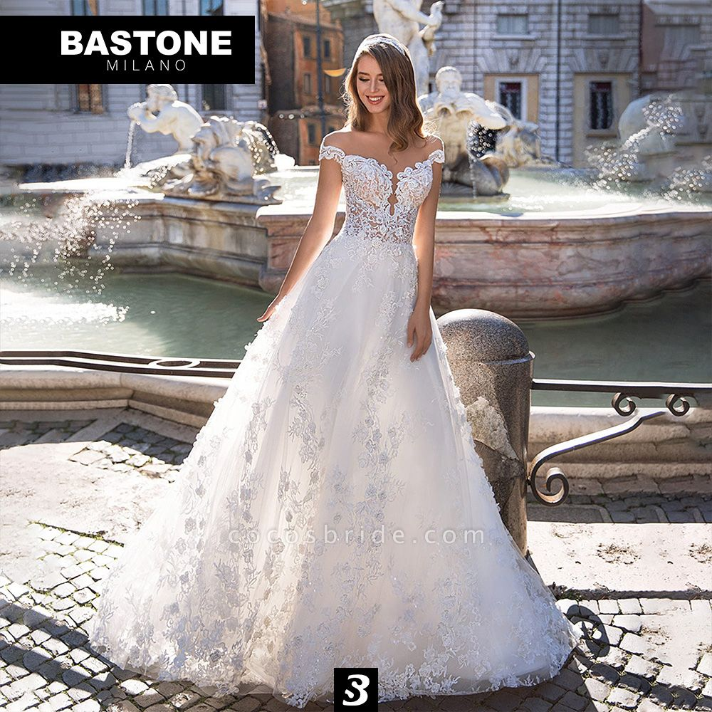 IC143L Wedding Dresses A Line Innocenza Collection