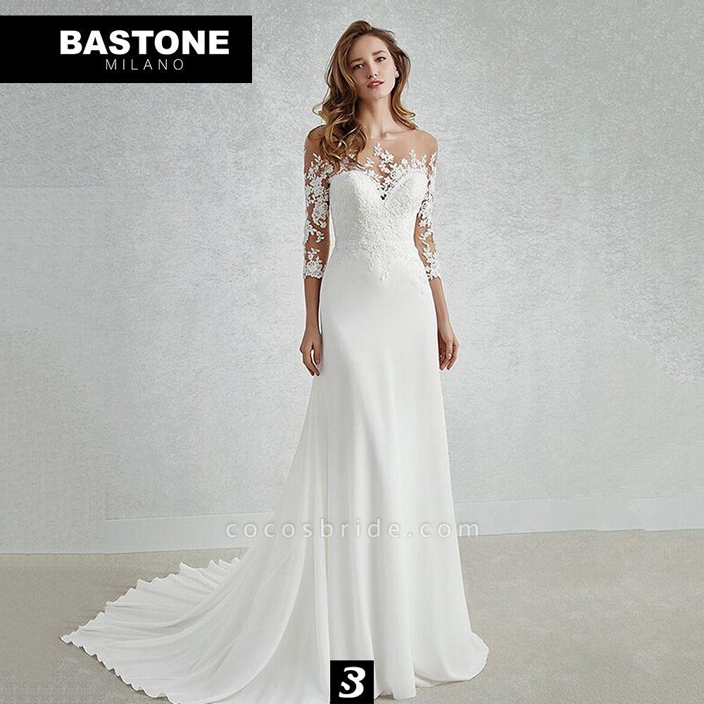 CC094L Wedding Dresses A Line Confidence Collection