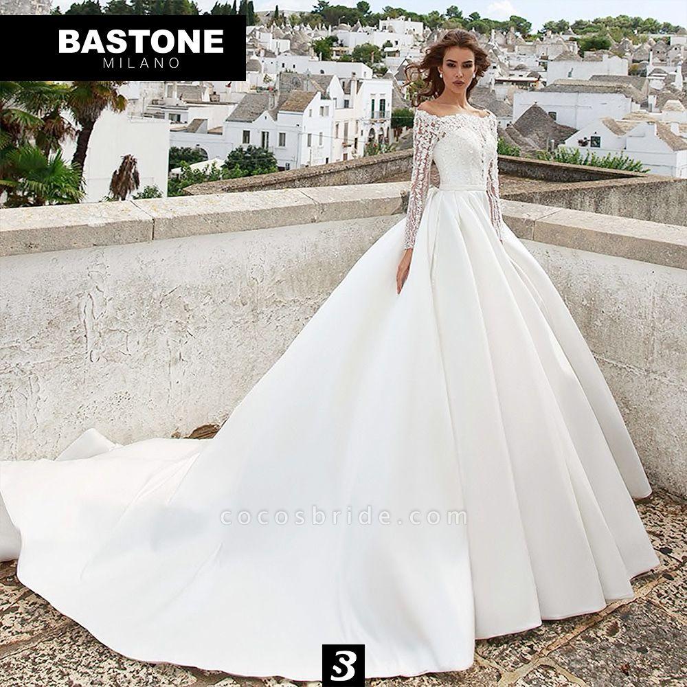 CC102L Wedding Dresses A Line Confidence Collection