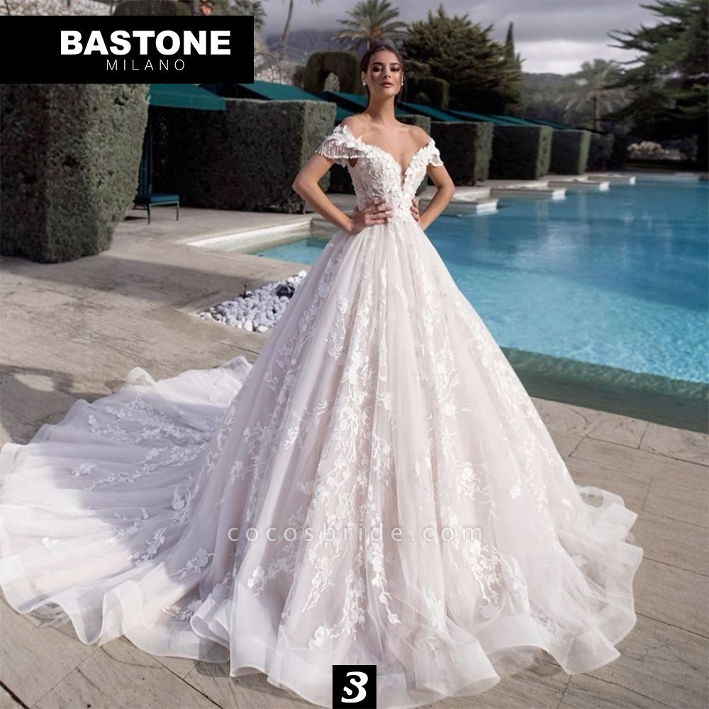 LL045L Wedding Dresses Ball Gown Luxury Line