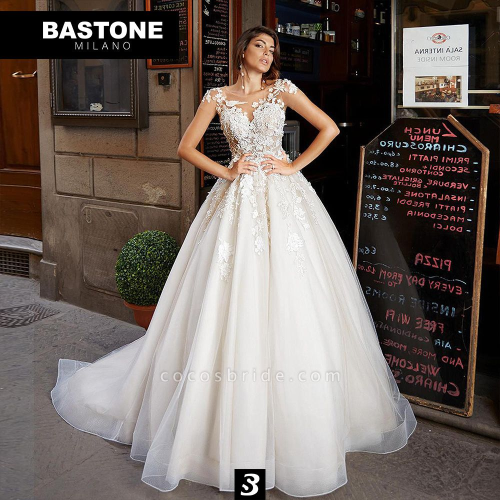 IC136L Wedding Dresses A Line Innocenza Collection