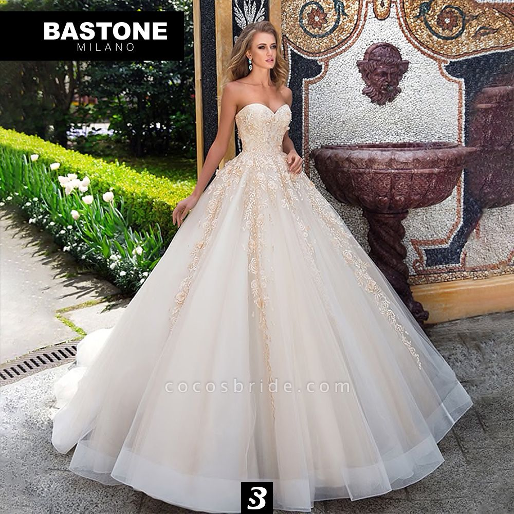IC127L Wedding Dresses A Line Ball Gown Innocenza Collection