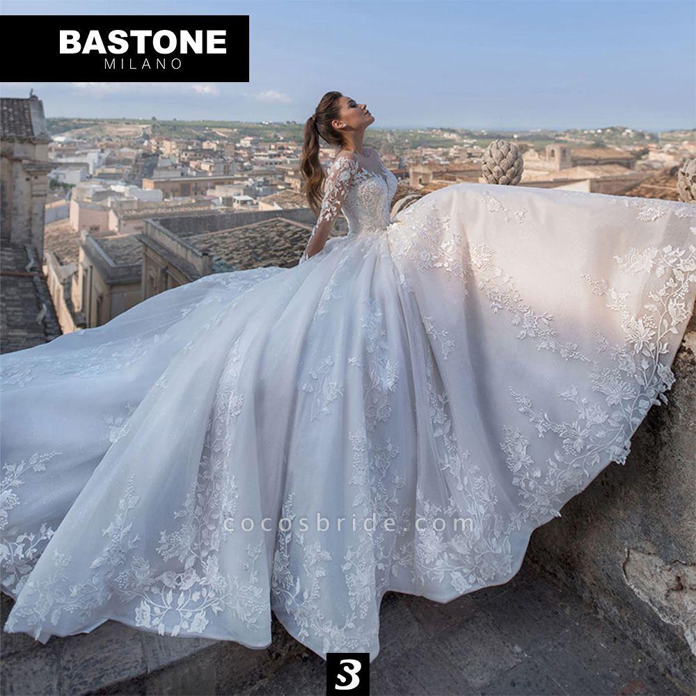LL042L Wedding Dresses Ball Gown Luxury Line