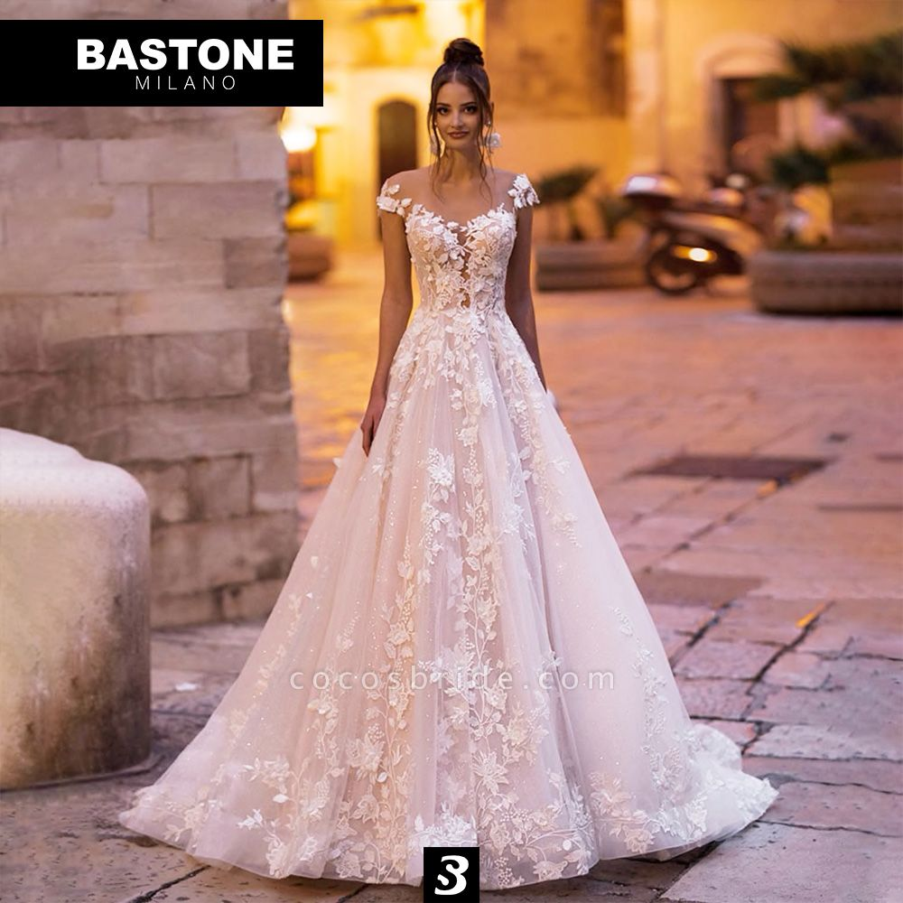 IC024L Wedding Dresses A Line Innocenza Collection