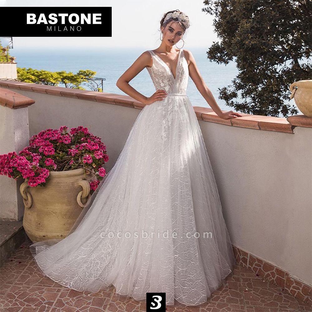 CC079L Wedding Dresses A Line Confidence Collection