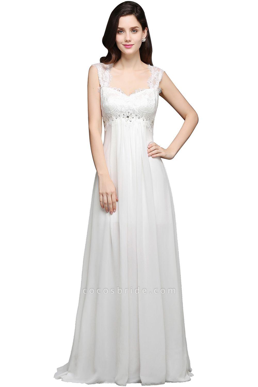 Sleek Sweetheart Chiffon A-line Evening Dress