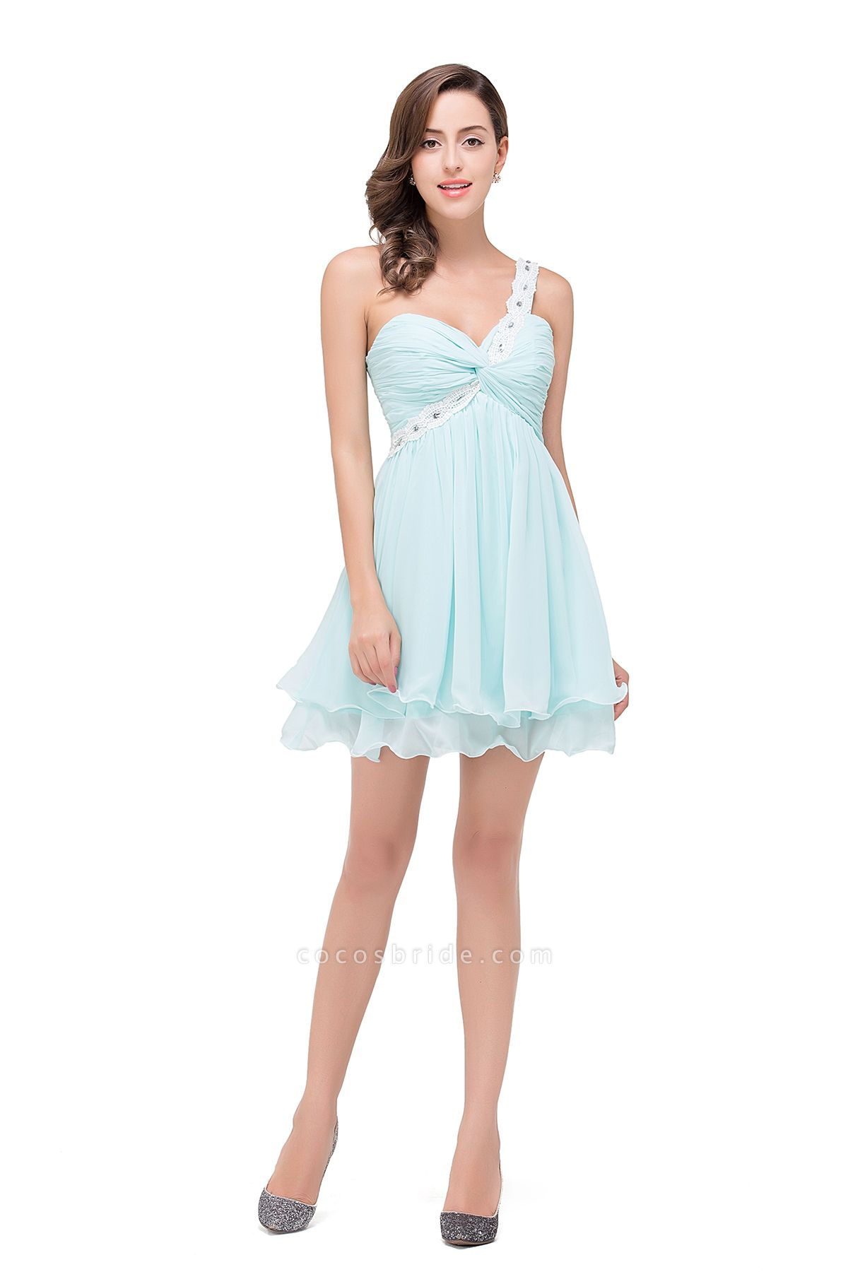 Attractive Sweetheart Chiffon A-line Homecoming Dress