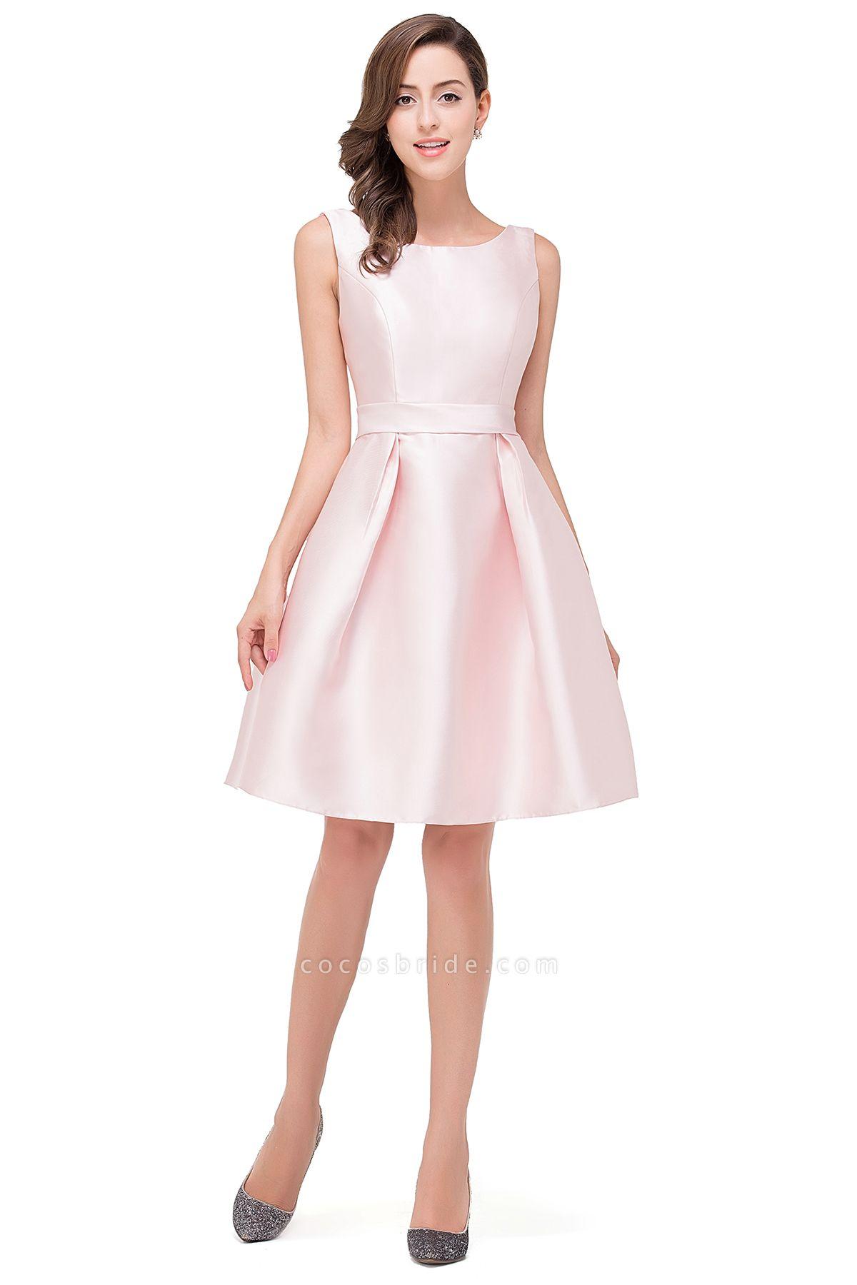 EMERSON | A-Line Sleeveless Knee Length Sleeveless Prom Dresses