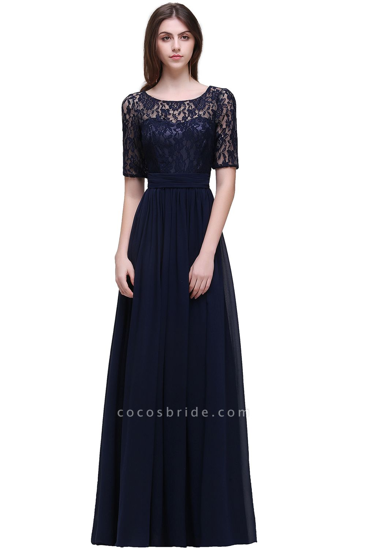Fascinating Jewel Chiffon A-line Evening Dress