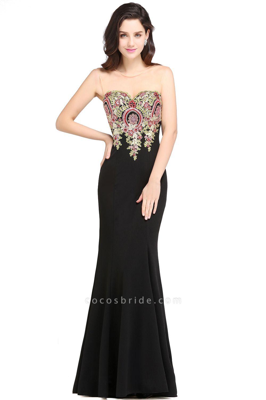Fascinating Scoop Stretch Satin Column Evening Dress