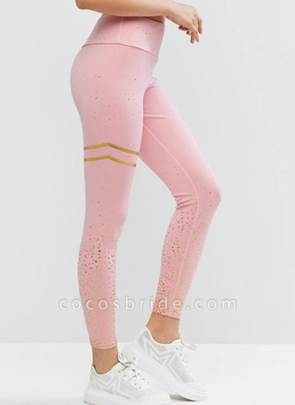 Women's Casual Polyester Yoga Bottoms Fitness & Yoga