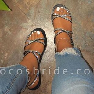 Women's Flats Slingbacks Flat Heel Sandals