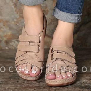 Women's Hollow-out Wedge Heel Sandals