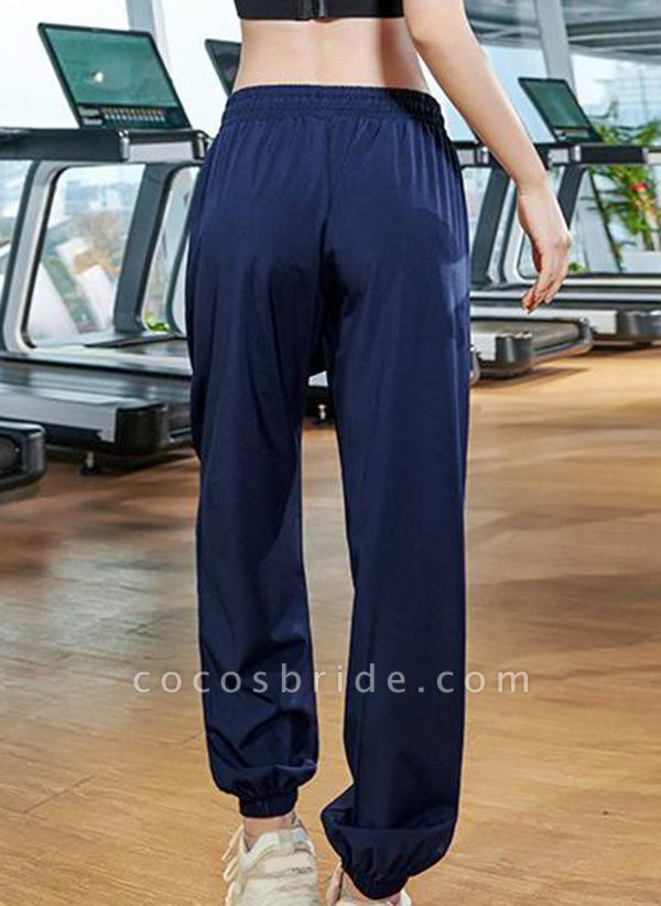 Women's Athletic Casual Sporty Polyester Fitness Bottoms Fitness & Yoga