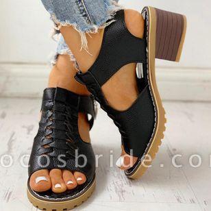 Women's Slingbacks Heels Chunky Heel Sandals