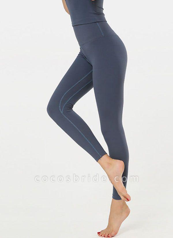 Women's Casual Nylon Yoga Leggings Fitness & Yoga
