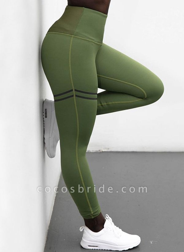 Women's Athletic Casual Sporty Polyester Fitness Pants Fitness & Yoga