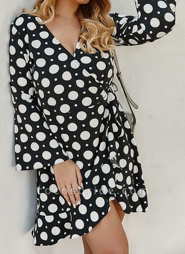 Yellow Plus Size Color Block V-Neckline Casual Maxi X-line Dress Plus Dress