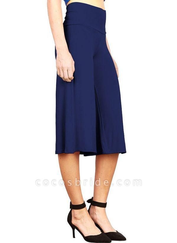 Women's Casual Polyester Yoga Pants Fitness & Yoga