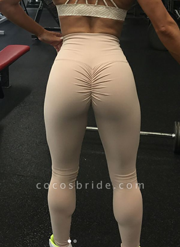 Women's Athletic Casual Sexy Sporty Cotton Blends Yoga Pants Fitness & Yoga