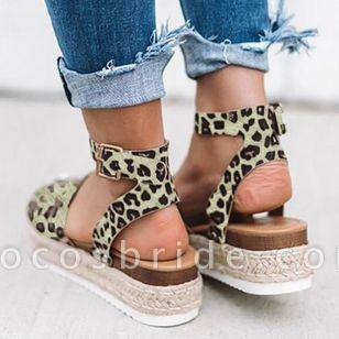 Women's Flats Cloth Flat Heel Sandals