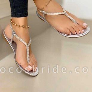 Women's Flip-Flops Flat Heel Sandals
