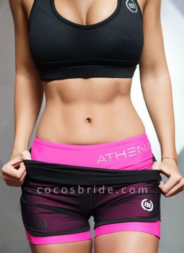 Women's Athletic Casual Sporty Polyester Yoga Leggings Fitness & Yoga