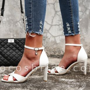 Women's Buckle Heels Stiletto Heel Sandals