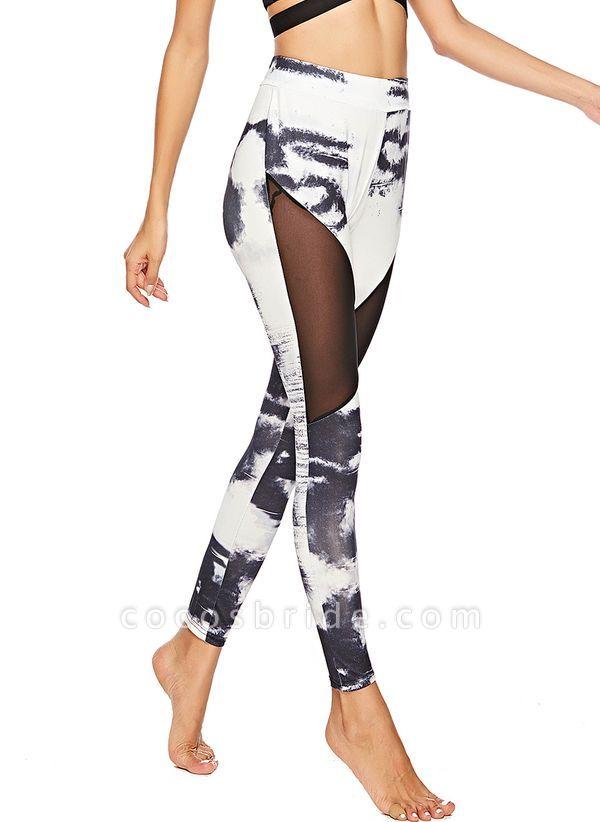Women's Sexy Polyester Yoga Bottoms Fitness & Yoga