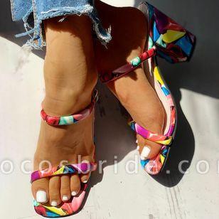 Women's Slingbacks Chunky Heel Sandals