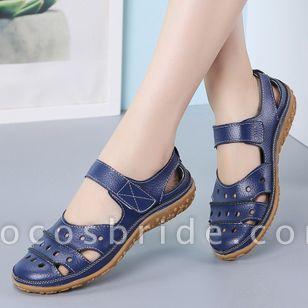 Women's Hollow-out Flats Flat Heel Sandals