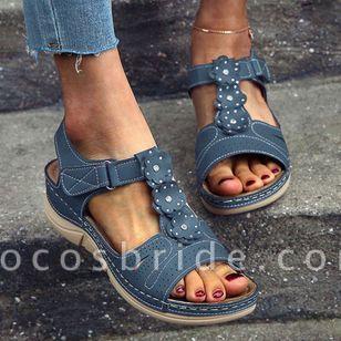 Women's Slingbacks Flat Heel Sandals Platforms