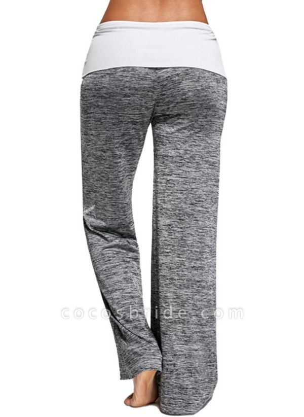 Women's Athletic Casual Sporty Fashion Polyester Yoga Pants Fitness & Yoga
