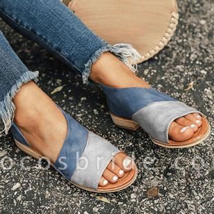 Women's Split Joint Flats Flat Heel Sandals