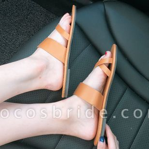 Women's Flats Toe Ring Flat Heel Sandals