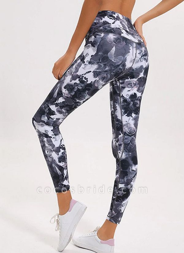 Women's Athletic Casual Polyester Yoga Pants Fitness & Yoga