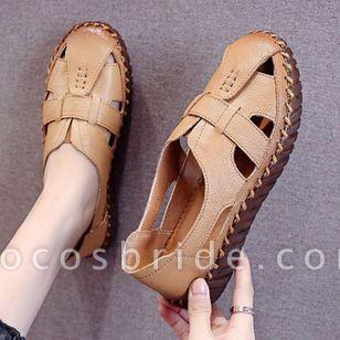 Women's Hollow-out Flats Flat Heel Sandals Flats