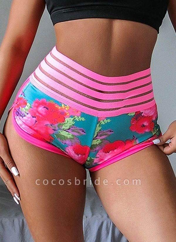 Women's Athletic Sexy Sporty Fashion Polyester Fitness Pants Fitness & Yoga