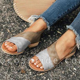 Women's Split Joint Flats Flat Heel Sandals