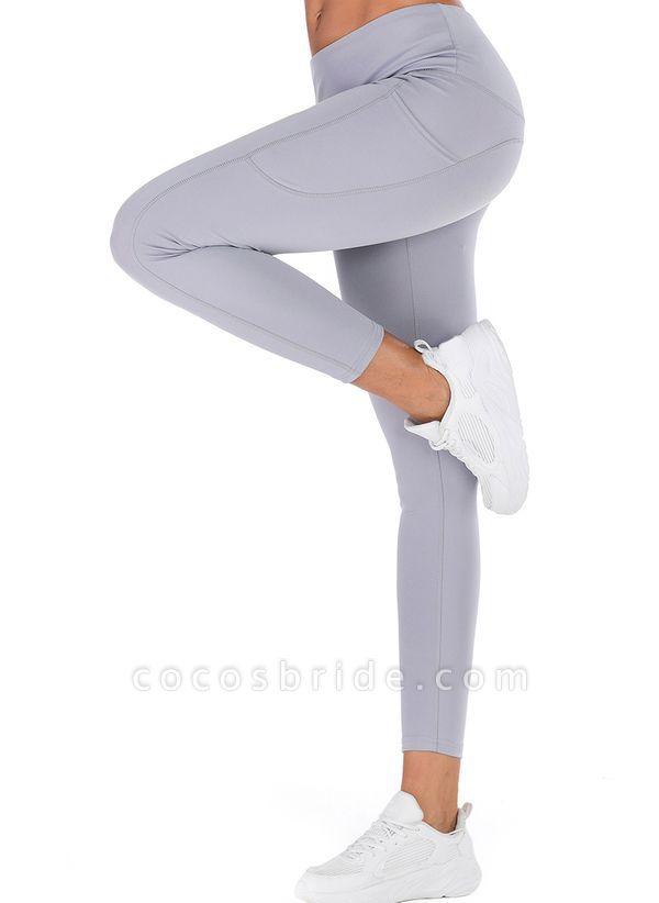 Women's Casual Polyester Yoga Leggings Fitness & Yoga