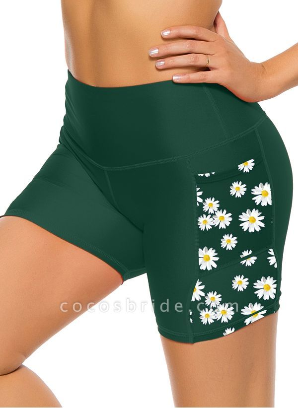 Women's Casual Nylon Spandex Yoga Bottoms Fitness & Yoga
