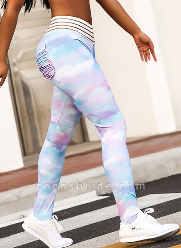 Women's Athletic Casual Polyester Spandex Fitness Pants Fitness & Yoga