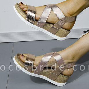 Women's Modern Wedge Heel Sandals