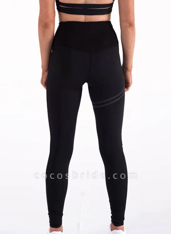 Women's Athletic Sexy Polyester Yoga Bottoms Fitness & Yoga