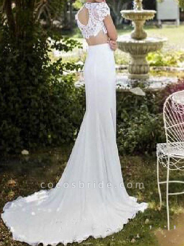 Lt7982079 Mermaid Lace Vintage Bohemian Wedding Dress