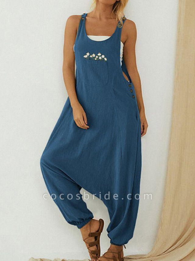 Women's Blue Jumpsuit